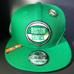 NEW ERA BOSTON DRAFT NBA19 9FIFTY SNAPBACK