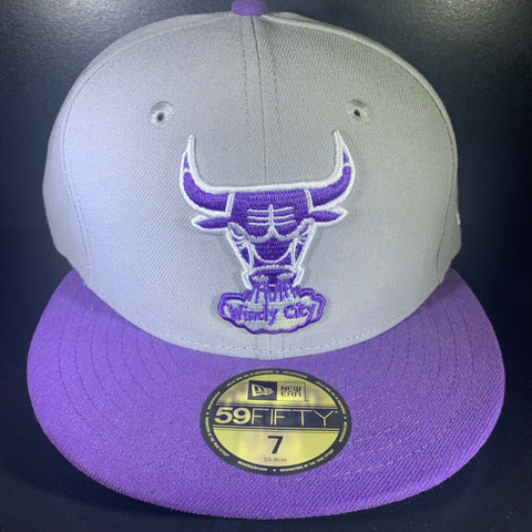 NEW ERA NEUTRAL BULLS  59FIFTY FITTED