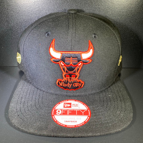 NEW ERA TEAM HASHER BULLS 9FIFTY SNAPBACK
