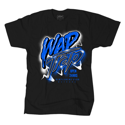 Outrank WAP Trap- Black/ Game Royal