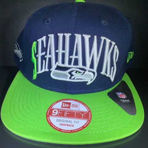 NEW ERA SEAHAWKS TEAM LEAD  9FIFTY SNAPBACK