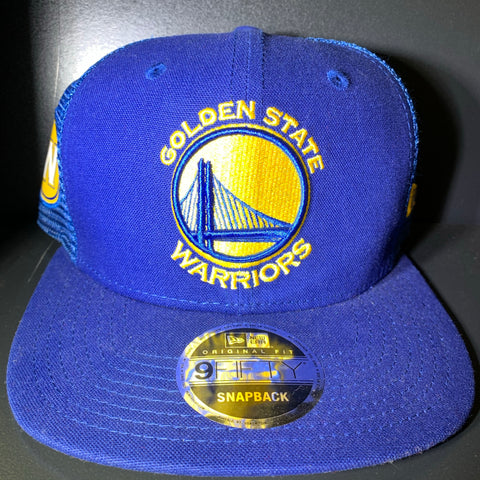 NEW ERA GOLDEN STATE TRUCKER 9FIFTY SNAPBACK