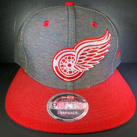 NEW ERA VIVIVD RED WINGS 9FIFTY SNAPBACK