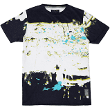A. TIZIANO-Calvin | Men's All Over Print Crew
