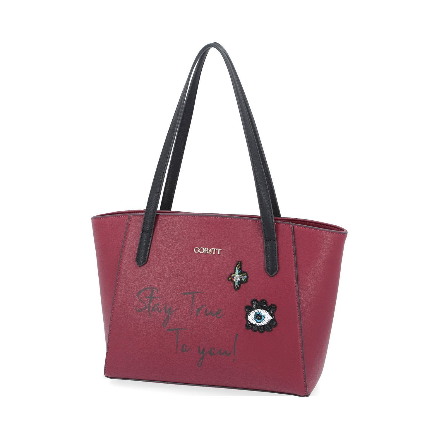 Bolso Tote Stay True Tinto
