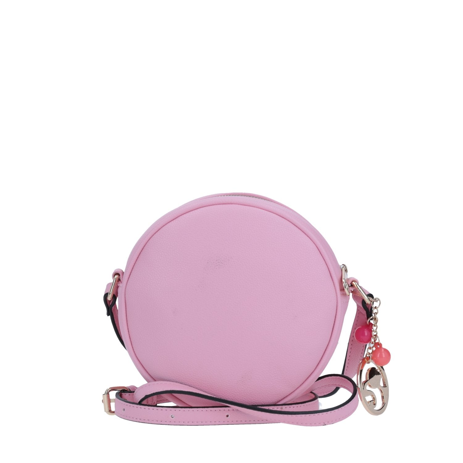 Crossbody Circular Color Rosa Barbie