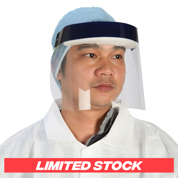 Transparent Protective Mask with Safety Shield Technology®
