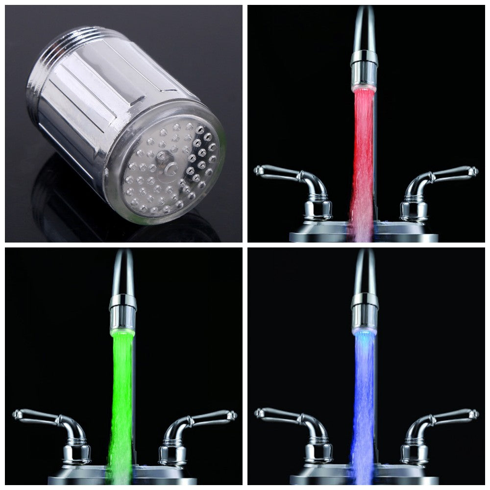3 Colour Change LED Faucet Temperature Sensor - The Herb Garden.