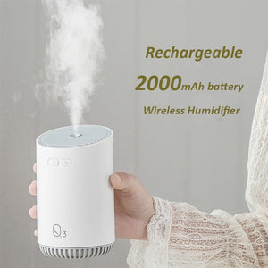 Heavy Mist Portable Wireless Air Diffuser 320ML - The Herb Garden.