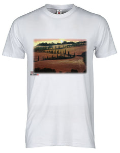 Val d'Orcia Countryside T-shirt