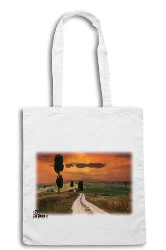 The Gladiator Val d'Orcia Landscape Shopper