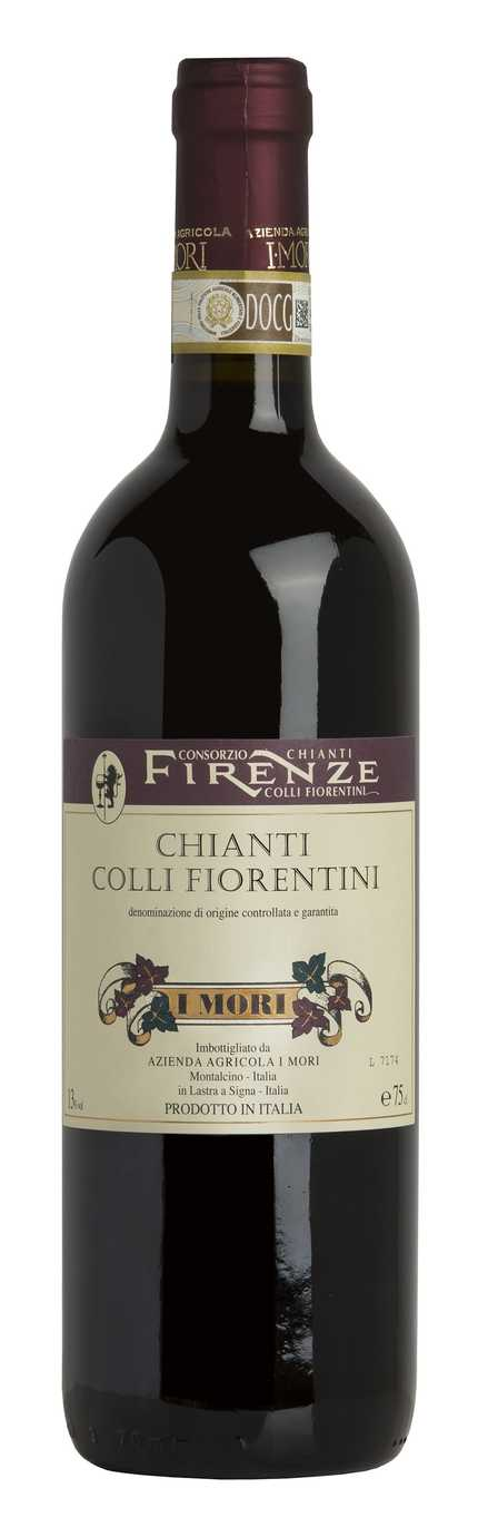 Red Wines From the Chianti Hills in Florence Surroundings
