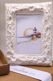 Rectangular frame with Ortona landscape print