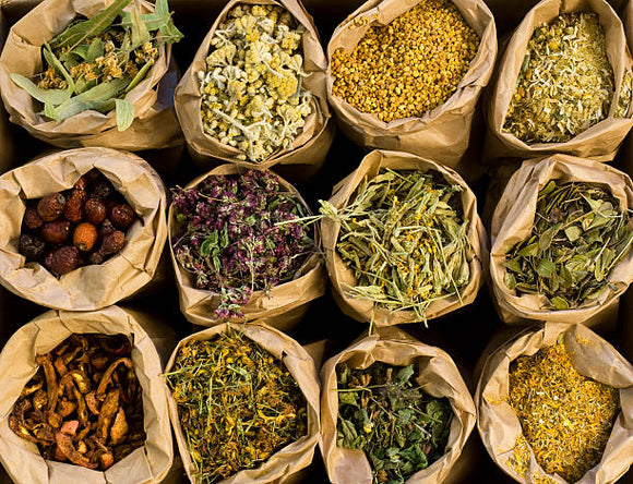 Herbs and infusions pack from Italy