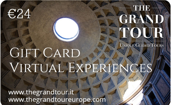 Gift Card for Virtual Experiences - 24 Euros