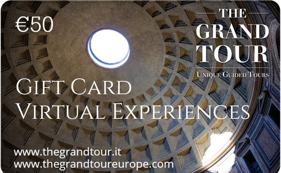 Gift Card for Virtual Experiences - 50  Euros