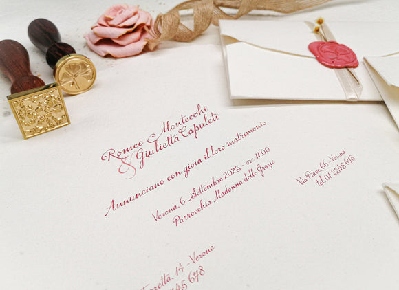 Wedding Invitation Suite Giotto