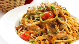 PORCINI MUSHROOMS SAUCE PASTA BOX