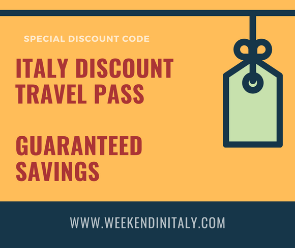 €100 Italy Discount Travel Pass