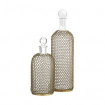 Drexel Decanters Set of 2