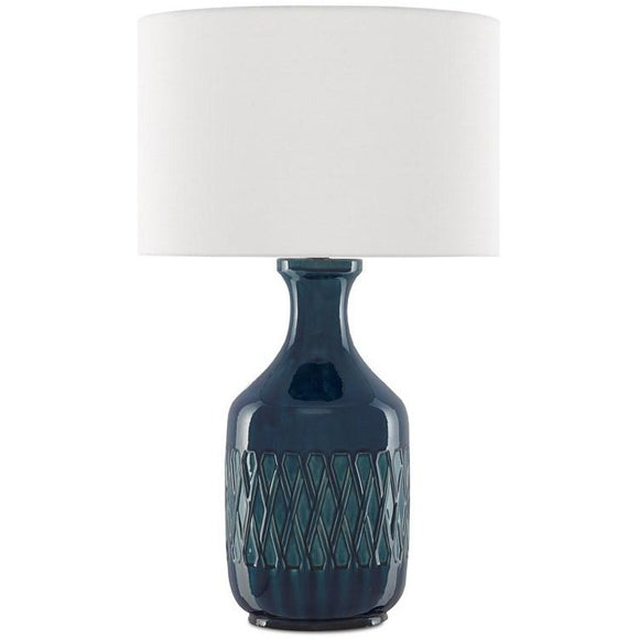 Samba Blue Table Lamp