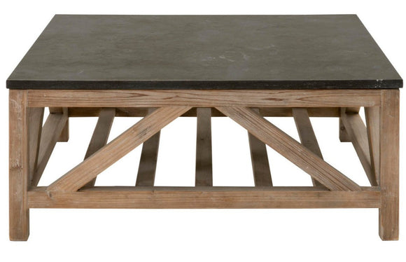 Blue Stone Coffee Table - Square