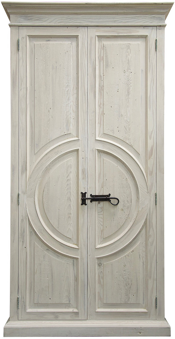 Reclaimed Lumber Circle Armoire