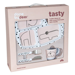 Done By Deer Toddler Dinner Set
