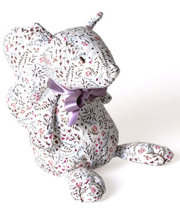 Dimpel Tobi Squirrel 18cm - BERRY