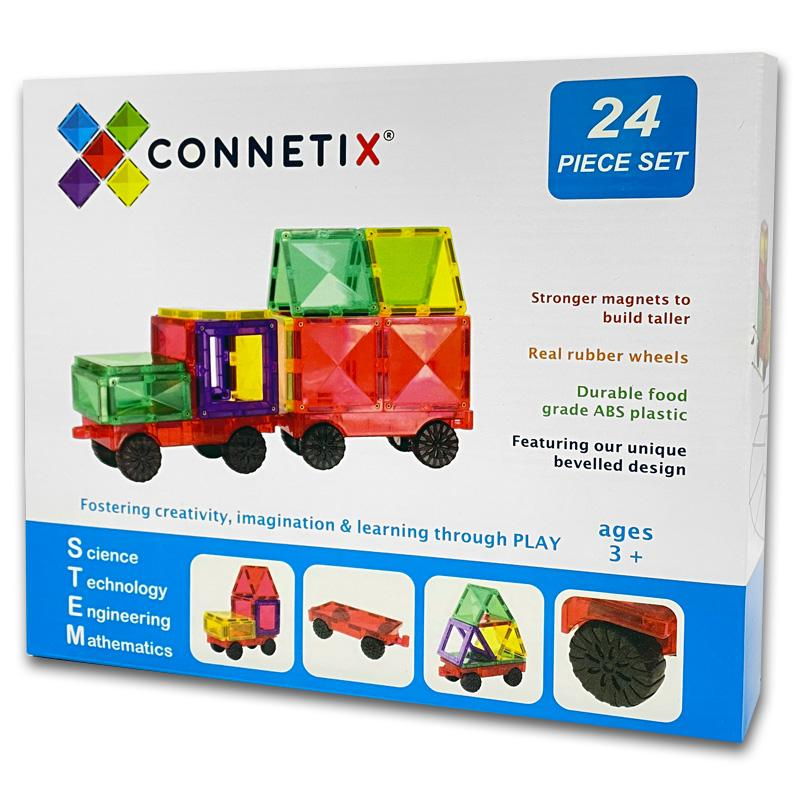 Connetix Tiles 24 pc - Car Set