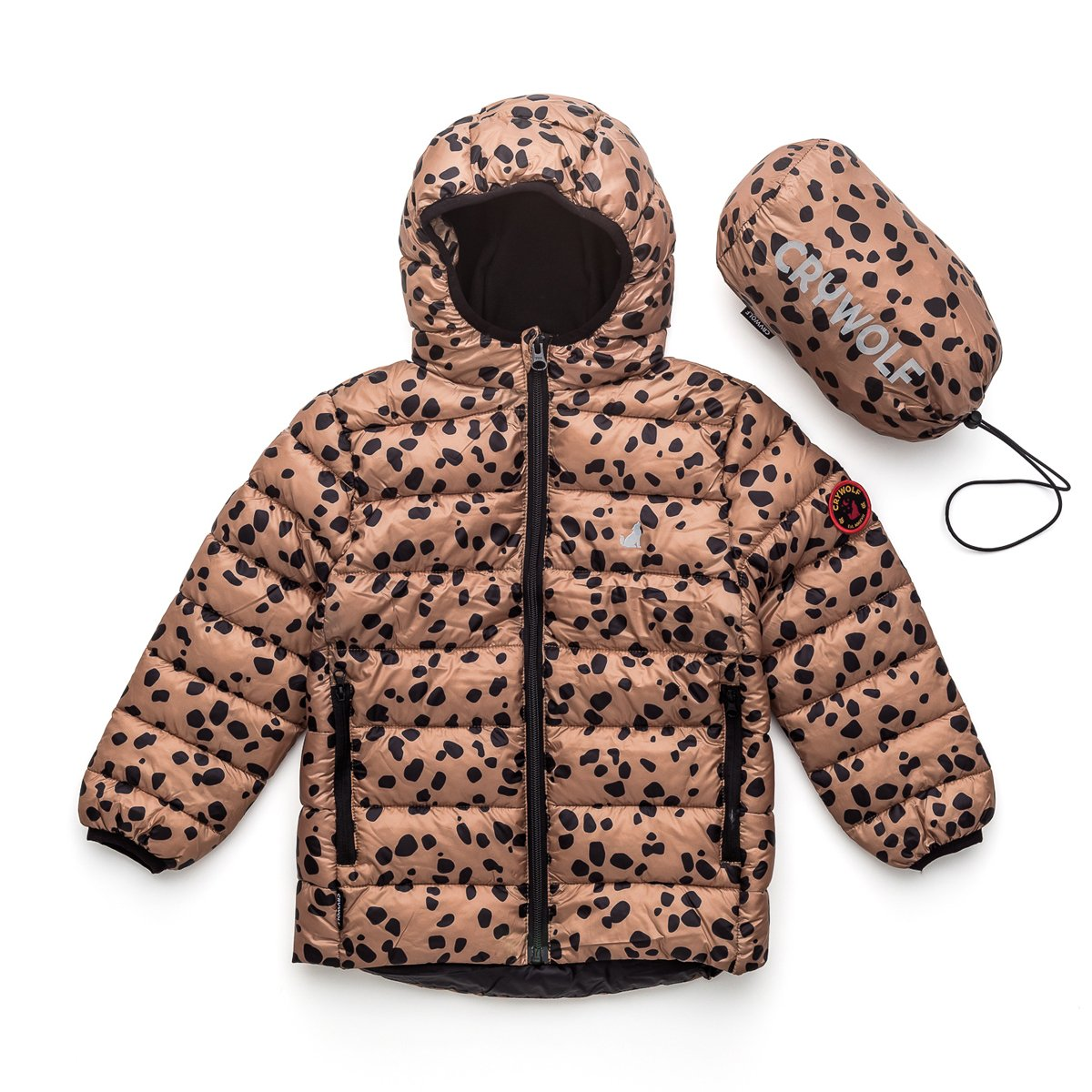 Crywolf Eco Puffer Jacket - Stones