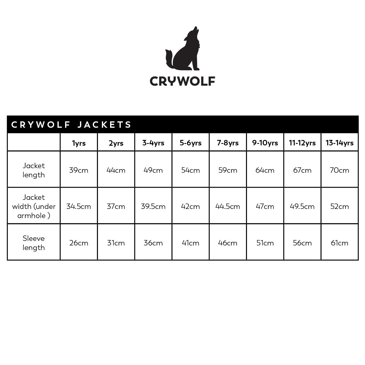 Crywolf Play Jacket - CRATER