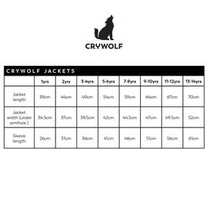 Crywolf Play Jacket - GREY LEOPARD