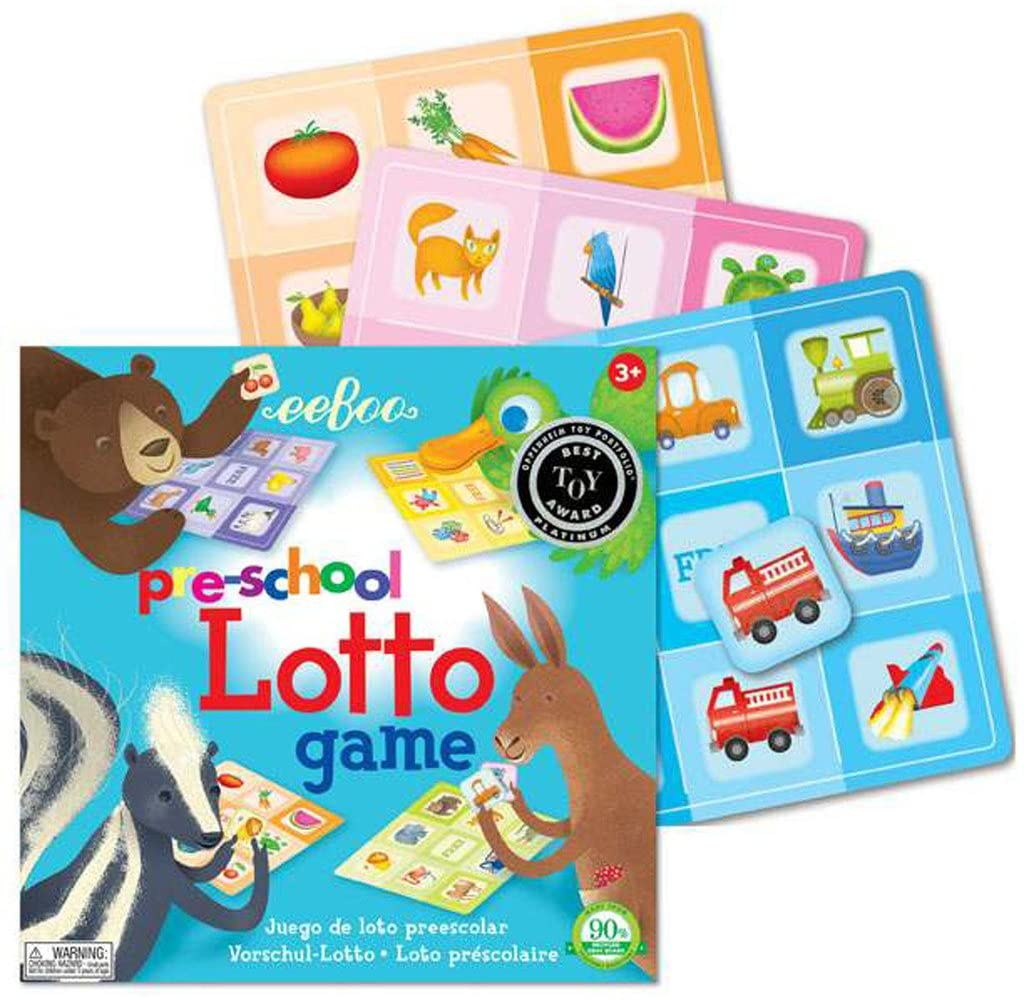 Eeboo Lotto Game Pre-School