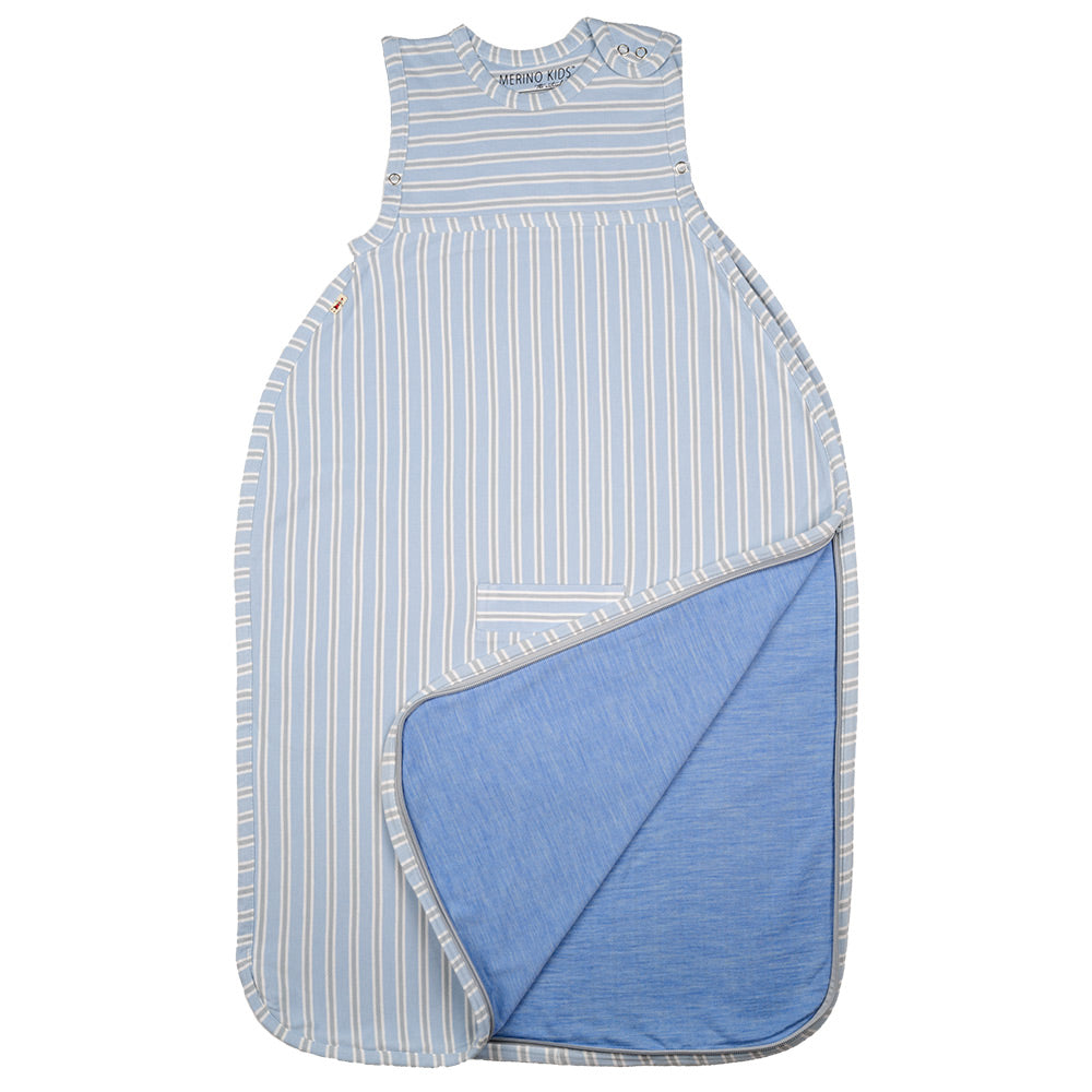 Merino Kids Sleep Bag Standard Weight - 0-2yrs (Stripes)