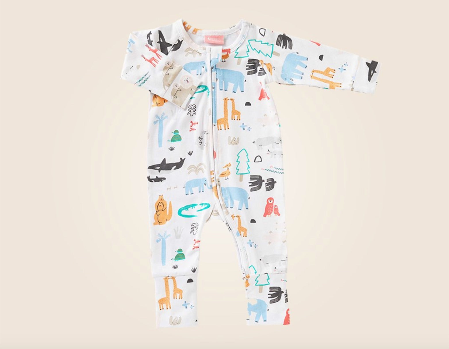 Halcyon Nights Long Sleeve Zip Suit - Baby Love