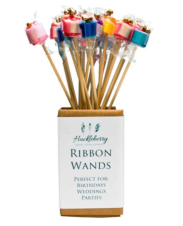Huckleberry Ribbon Wands Assorted
