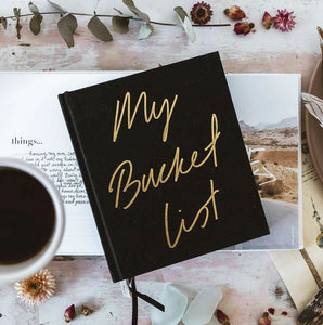 Axel & Ash Journal -  My Bucket List