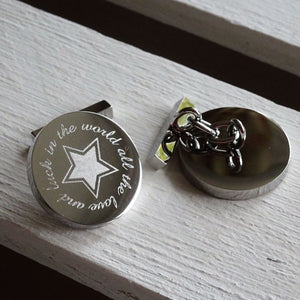 Tales from the Earth - Cufflinks All Luck & Love