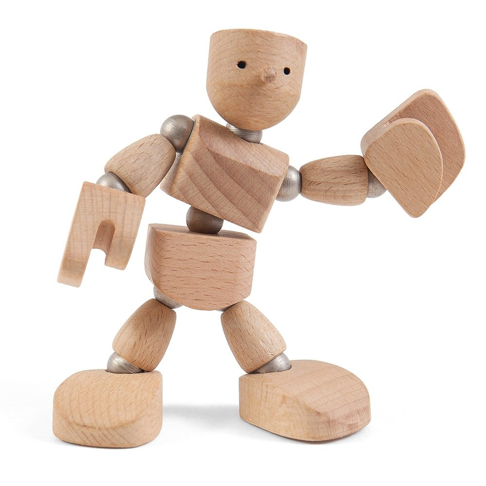 Woonkis Wodibow Original Wooden Man
