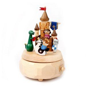 Wooderful Life Music Box - Castle