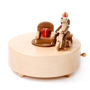 Wooderful Life Music Box - Happy Puppy