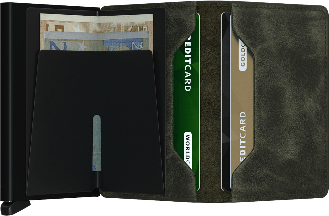 Secrid Slim Wallet - Vintage Green