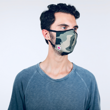 Load image into Gallery viewer, MODMASK Camo (Not Adjustable / Smaller Faces) Face Mask