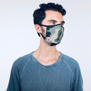 MODMASK Camo (Not Adjustable / Smaller Faces) Face Mask