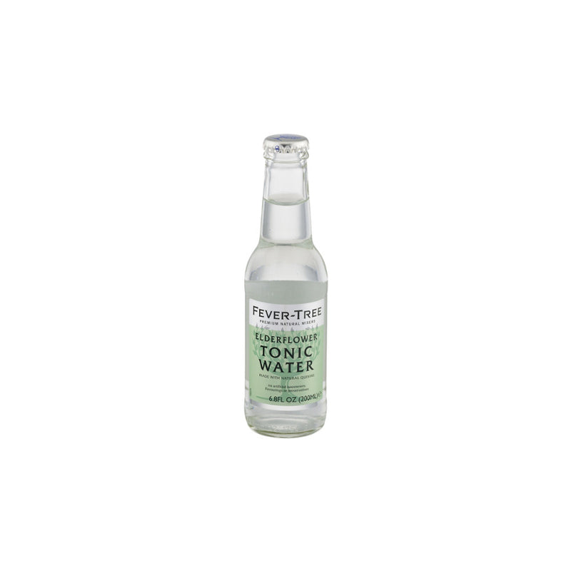 Elderflower Tonic Water,  6.8 oz, 24 count
