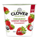 Organic Strawberry Low Fat Yogurt, 6 oz, 12 count