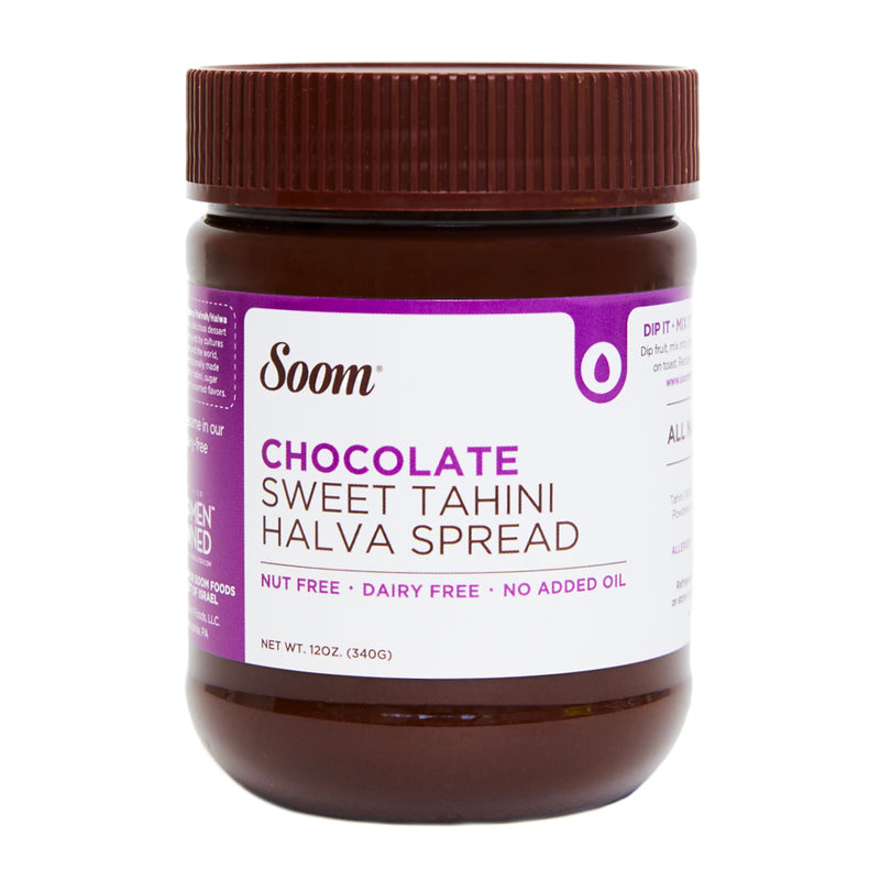 Soom Chocolate Tahini Spread, 12 oz