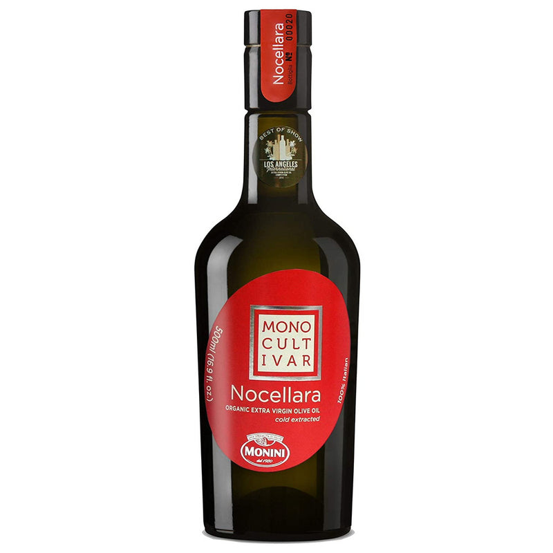 Italian Nocellara Extra Virgin Olive Oil, 500 ml bottle