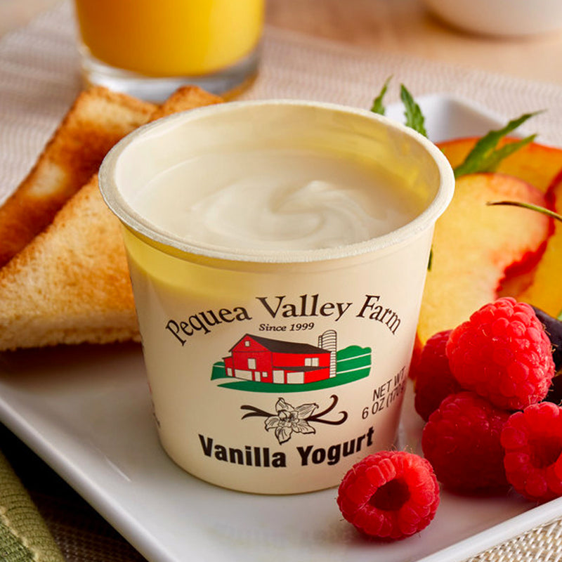 Vanilla Yogurt, 6 oz, 6 count